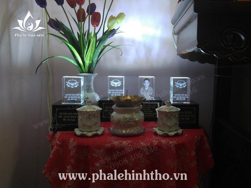 Làm thạch táng tại gia Nguyễn Thái Sơn - Gò Vấp